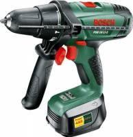 Bosch PSB 18 LI-2 - cordless combi drills (Lithium-Ion (Li-Ion), 18 V, 1.800 kg, Black, Green)
