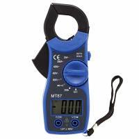 Pinza Amperometrica - SODIAL(R)MT87 31/2 Pinza Digitale AC / DC Voltmetro Tester con Pinza Amperometrica Multimetro Digitale Clamp Meter Con 25 Millimetri Apertura Delle Ganasce blu