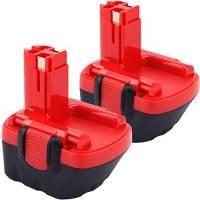 2X Dosctt per Bosch BAT043 12V 3000mAh NIMH Utensili elettrici Batteria Di Ricambio BAT045 BAT046 BAT049 BAT120 BAT139 2607335261 2607335261 2607335274 2607335375 PSR 12 PSR 12VE
