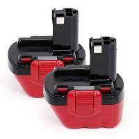 POWERGIANT 2PCS Batteria Bosch 12V 3Ah 2607335273 2607335709 2607335531 2607335274 2607335675 2607335261 2607335542, Batterie per avvitatore Bosch PSR 12, GSR 12V, GSR 12-2, PSR 12VE-2