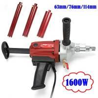 130mm Diamond Core Drill, carotatore Core Drilling Tool Diamond Concrete Core mano Rock Drill Bit trapano centrale 1600W