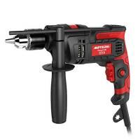Trapano elettrico, Meterk 850w 3000 RPM Impact Drill, martello e trapano 2 in 1, fermo profondità e mandrino a azione rapida, impugnatura extra regolabile