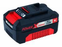 Einhell 4511341 Batteria Ricaricabile, Power X-Change, 18 V, 3.0 Ah, Nero/Rosso