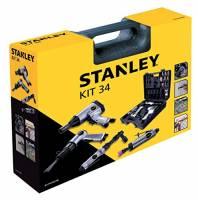 Stanley accessori per aria per compressori Airtoolkit, 34 pcs, 8221074STN