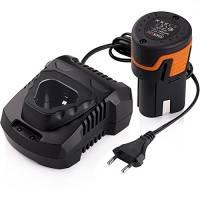 Batterie agli Ioni di Litio 12V 2000mAh per Avvitatore Elettrico Tacklife PPK01B Batteria Ricaricabile di Tensione Ampia 100-240V Adatto per Avvitatore da Tacklife