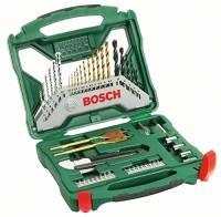 Bosch 2607019327 Misto X-Line Set Trapano, 50 Pezzi, Titanium, Avvitamento e Foratura