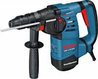 Bosch Professional GBH 3-28 DFR Martello Perforatore, Mandrino SDS-Plus, Mandrino Autoserrante, 800 W, Foro Calcestruzzo 28 mm, Valigetta