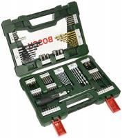 Bosch 2607017195 Set di Punte, Trapano e Chiavi, 91 pezzi