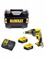 DeWALT DCF620P2 Avvitatore Brushless per cartongesso 18V (2 Batterie x 5,0Ah)