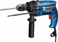 Bosch Professional 35992 Trapano con Percussione GSB 13 RE, Inclusi Asta di profondità 210 mm, Mandrino Autoserrante 13 mm, Confezione in Cartone, 600 W, 230 V