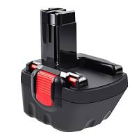 Tecmana 12V 3,5Ah Batteria per Bosch BAT043 BAT045 BAT120 BAT139 2607335542 2607335526 2607335274 2607335709 GSR 12-2 12VE-2 PSR 12 GSB 12VE-2 22612 23612 32612