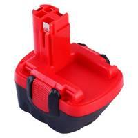 Topbatt 12V 3.0Ah Ni-MH per Bosch Batteria di Ricambio BAT043 BAT045 BAT046 BAT049 BAT120 BAT139 2607335273 2607335249 2607335709 2609200306 GSR12-2 GSR12-1 PSB12VE-2 PSR1200