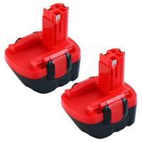 2 Pacchi 3000mAh Ni-MH Sostitutiva per Bosch 12V Batteria BAT043 BAT045 BAT120 BAT139 2607335542 2607335526 2607335676 2607335274 2607335709 Adatta GSR 12-2 12VE-2