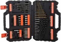 BLACK+DECKER A7200-XJ Titanium Set per Forare ed Avvitare, 109 Pezzi