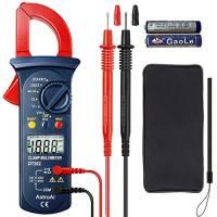 AstroAI Pinza Amperometrica Professionale Multimetro Tester Digitale Automatico Tensione AC, Misurare Corrente Continua, Voltaggio, Resistenza, Diodi