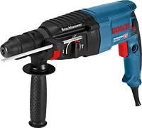 Bosch Professional GBH 2-26 F Martello Perforatore, Mandrino SDS-Plus, Mandrino Autoserrante, 830 W, Foro Calcestruzzo 26 mm, Valigetta