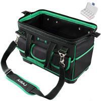 """AIRAJ16""""borsa degli attrezzi multifunzione, borsa degli attrezzi impermeabile, adatta per carpenteria, elettricista, personale di manutenzione, borsa per lo stoccaggio giornaliero"""
