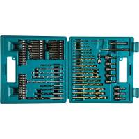 Makita b-49373e punte per foratura, 18V, blu, confezione da 75pezzi