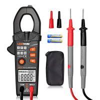 Pinza Amperometrica Multimetro,LQ3269 True RMS & 6000 Conteggio Professionale Tester Digitale Automatico Tensione,AC/DC Voltaggio, AC Corrente, Resistenza, Hz