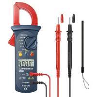 AstroAI Pinza Amperometrica Professionale Multimetro Tester Digitale Automatico Tensione AC/DC, Misurare Corrente Continua, Voltaggio, Resistenza, Diodi