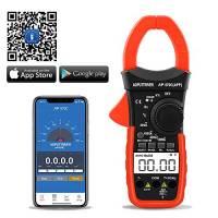 Digitale Pinza Amperometrica,AP-570C-APP Amplificatore Bluetooth con amplificazione automatica per AC&DC Amperaggio corrente Tensione resistenza temp con continuità retroilluminata