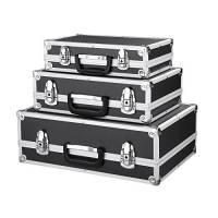 IKAYAA - Cassetta degli Attrezzi con Telaio in Alluminio e ABS